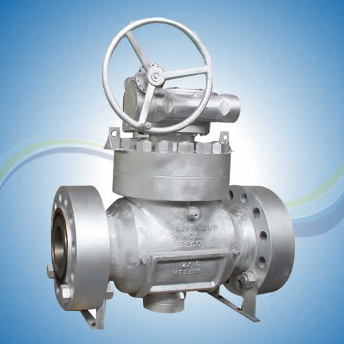 Top Mounting Ball Valve